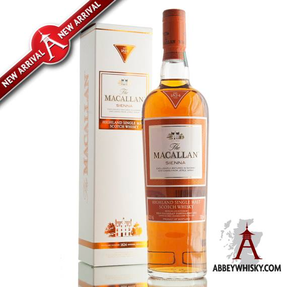 Recently Tasted - Macallan Sienna 1824 Series