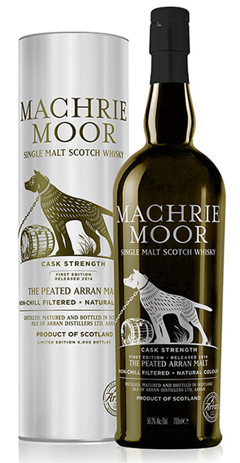 Double Machrie Moor Release from Arran Distillery