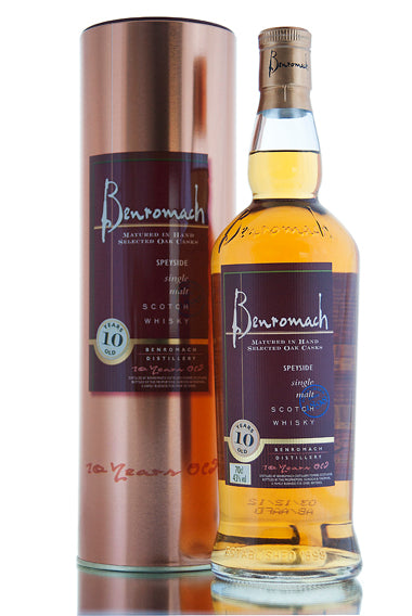 Win a bottle of Benromach 10 Year Old!
