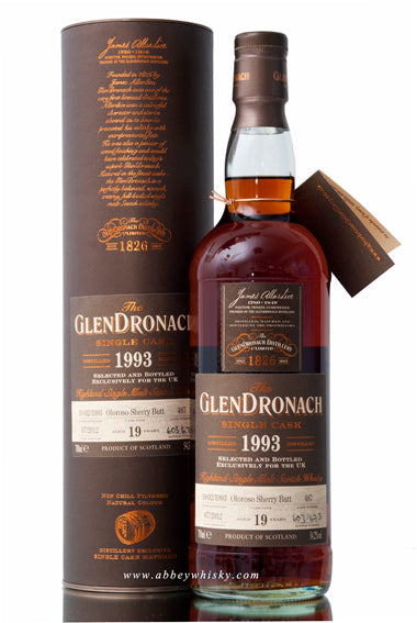 Glendronach 1993 / 19 Year Old / Cask 487 / UK Exclusive