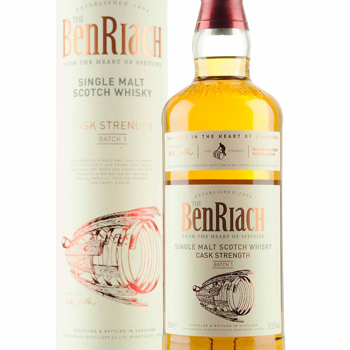 In stock now! - BenRiach Cask Strength Batch 1