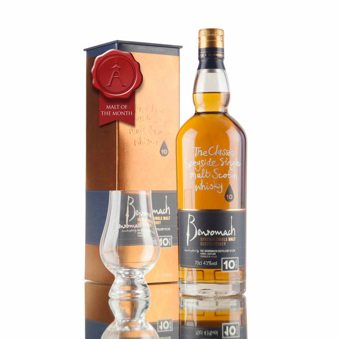 Benromach 10 Year Old - Malt of the Month March