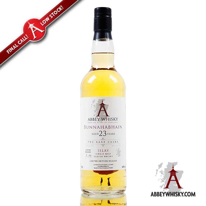 Final Call - Bunnahabhain 23 Year Old - The Rare Casks