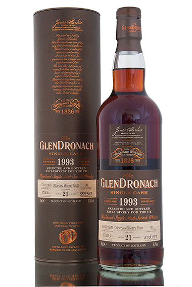 GlenDronach & BenRiach UK Exclusives
