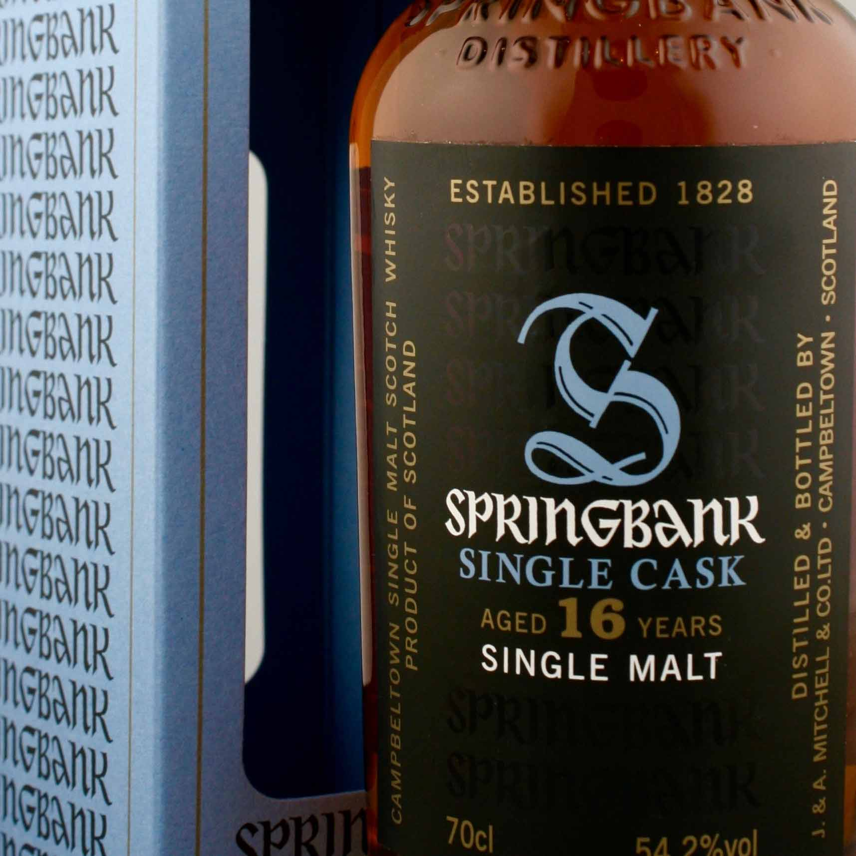 Springbank 16 Year Old Sherry Cask