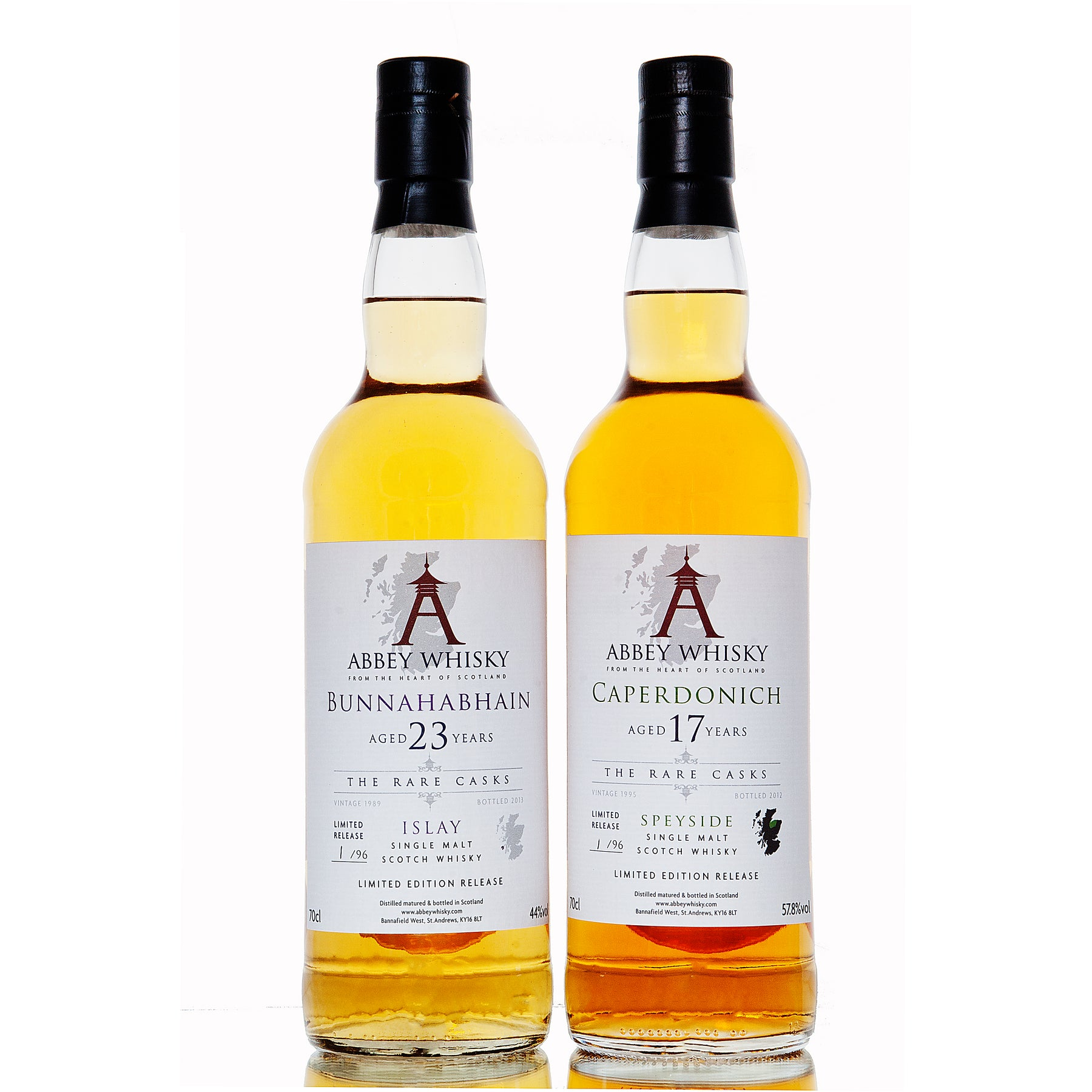The 2nd release in 'The Rare Casks' series by Abbey Whisky has arrived!