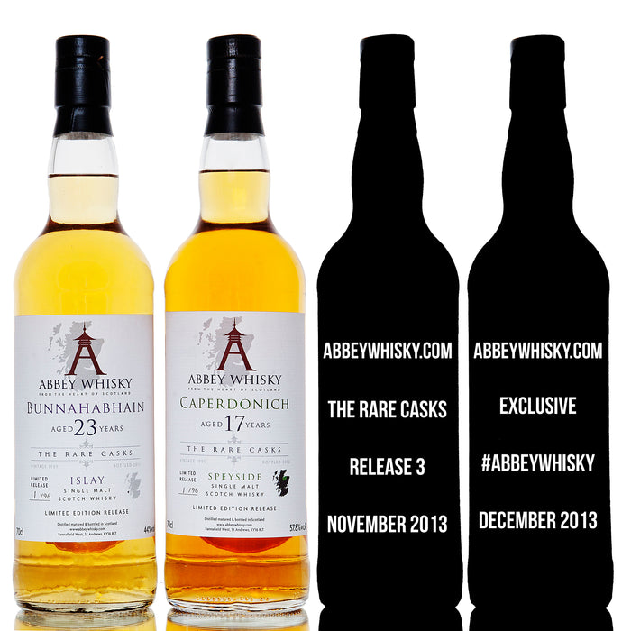 Abbey Whisky Rare Casks Tweet Tasting #abbeywhisky