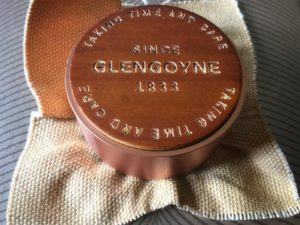 Glengoyne 30 Year Old Cask Bung and hessian