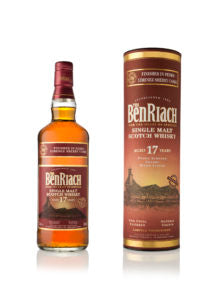 BenRiach 17 Year Old PX Wood Finish