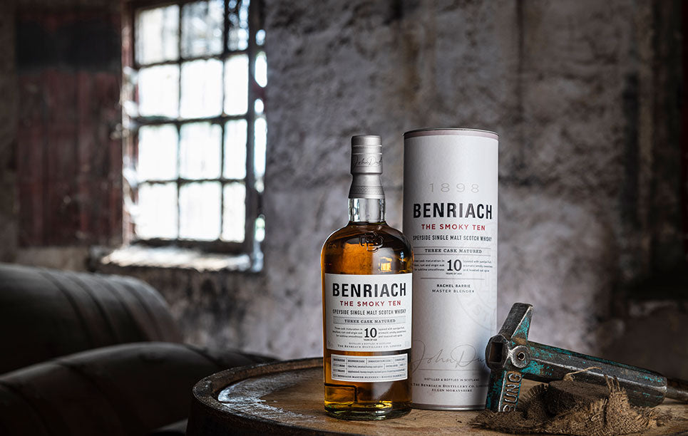 BenRiach Single Malt Scotch Whisky, available to buy online at Abbey Whisky shop.