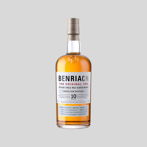 BenRiach single malt Scotch whisky, available to buy online at Abbey Whisky.