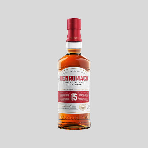 Benromach single malt Scotch whisky, available to buy online at Abbey Whisky