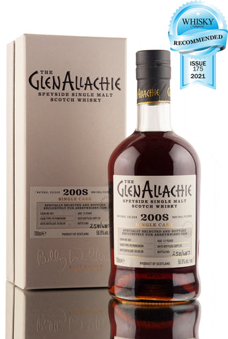 GlenAllachie 12 Year Old - 2008 | AW Exclusive | Recommended Award Whisky Magazine | Abbey Whisky