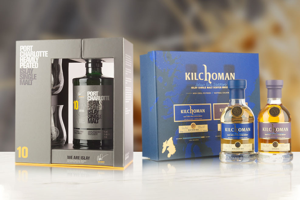 Scotch whisky gift packs, available to buy online at Abbey Whisky Shop. We also sell Gin & Rum.