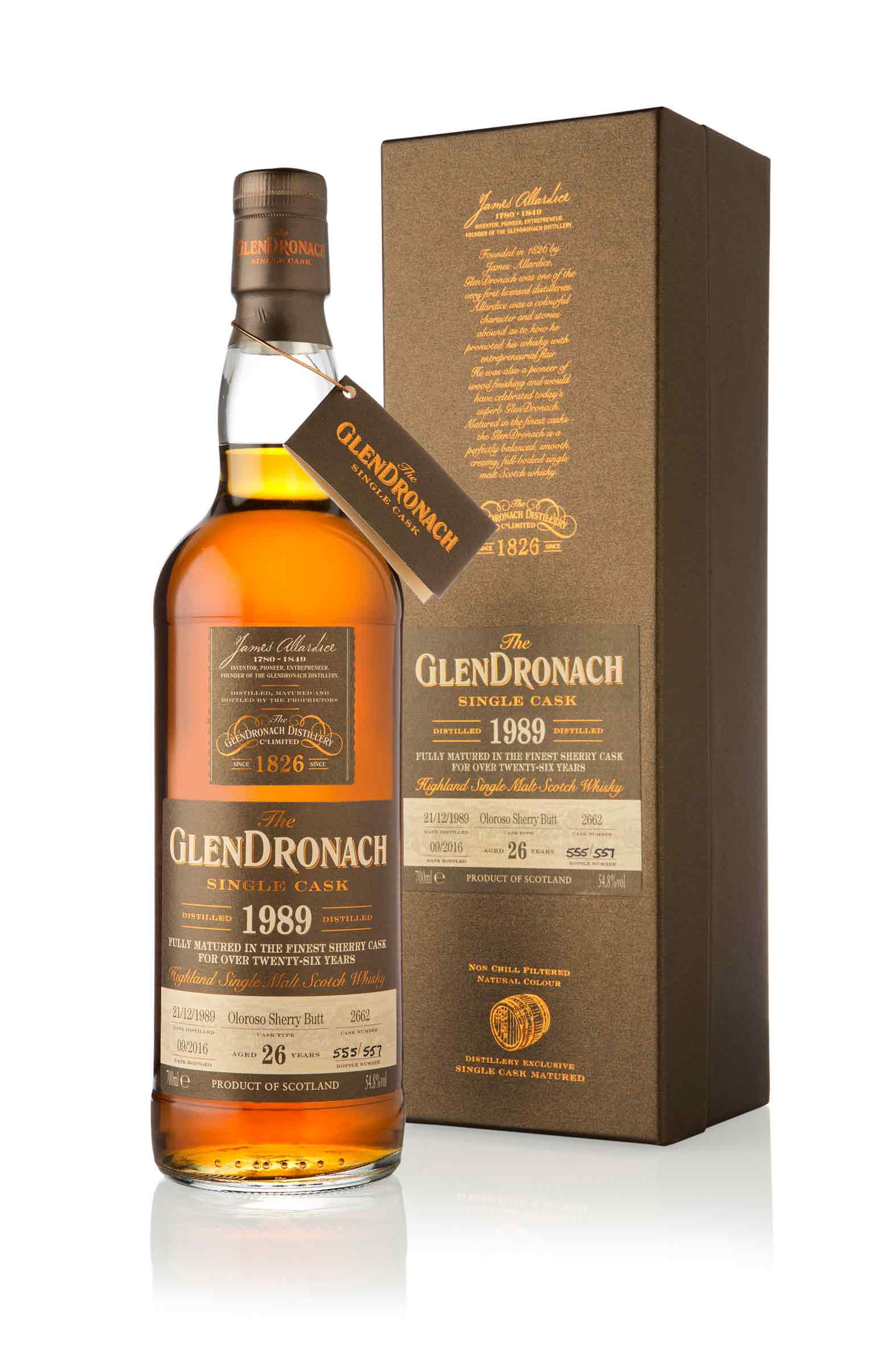 GlenDronach 26 Year Old - 1989 / Single Cask 2662 / Batch 14