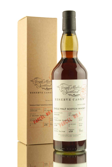 A Speyside Distillery 10 Year Old - 2010 | Reserve Casks Parcel No.4 | Abbey Whisky