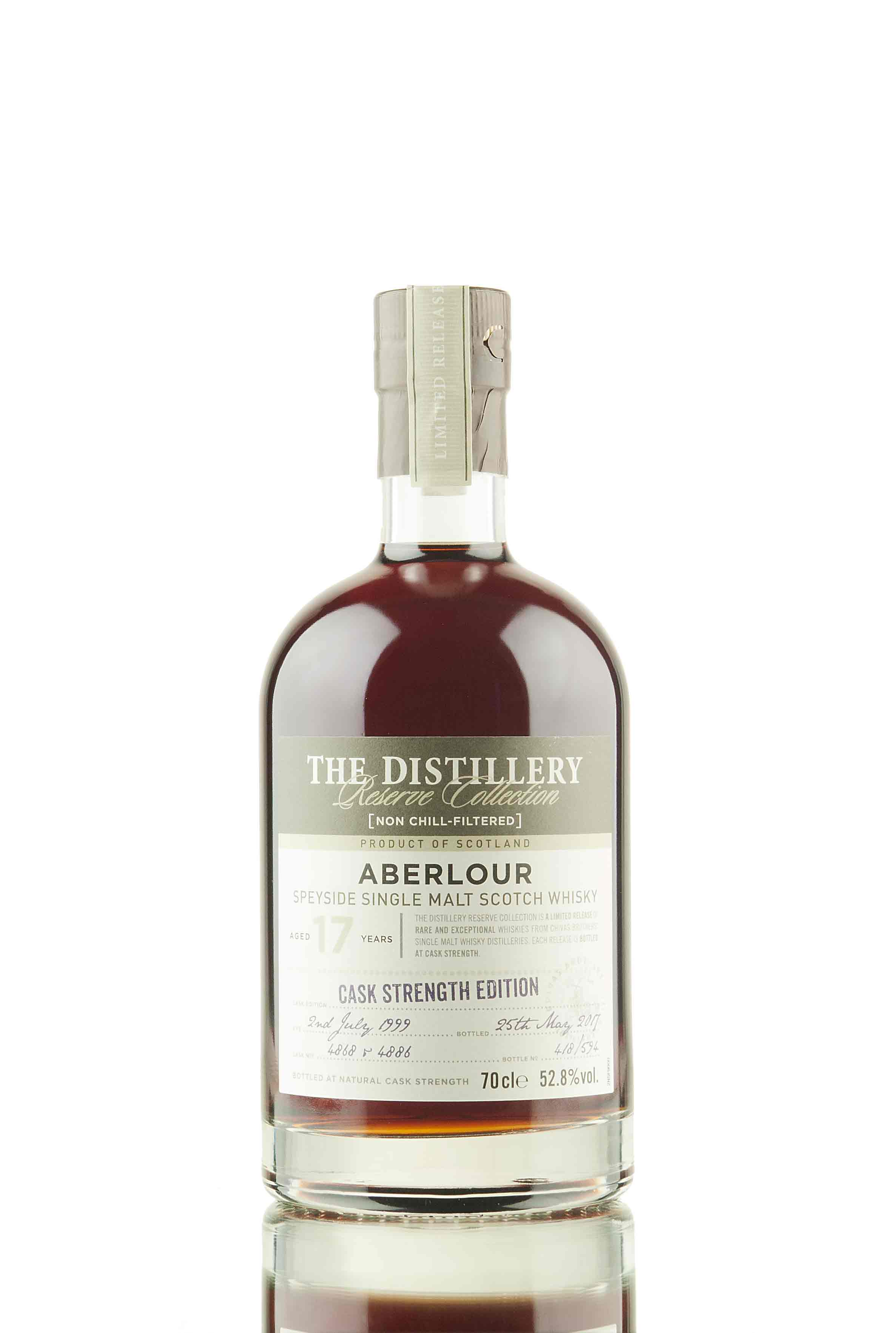 Aberlour 17 Year Old - 1999 | Cask Strength Edition