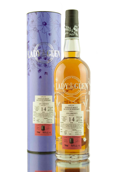 An Orkney 14 Year Old - 2007 | Cask 6 | Lady of the Glen | Abbey Whisky