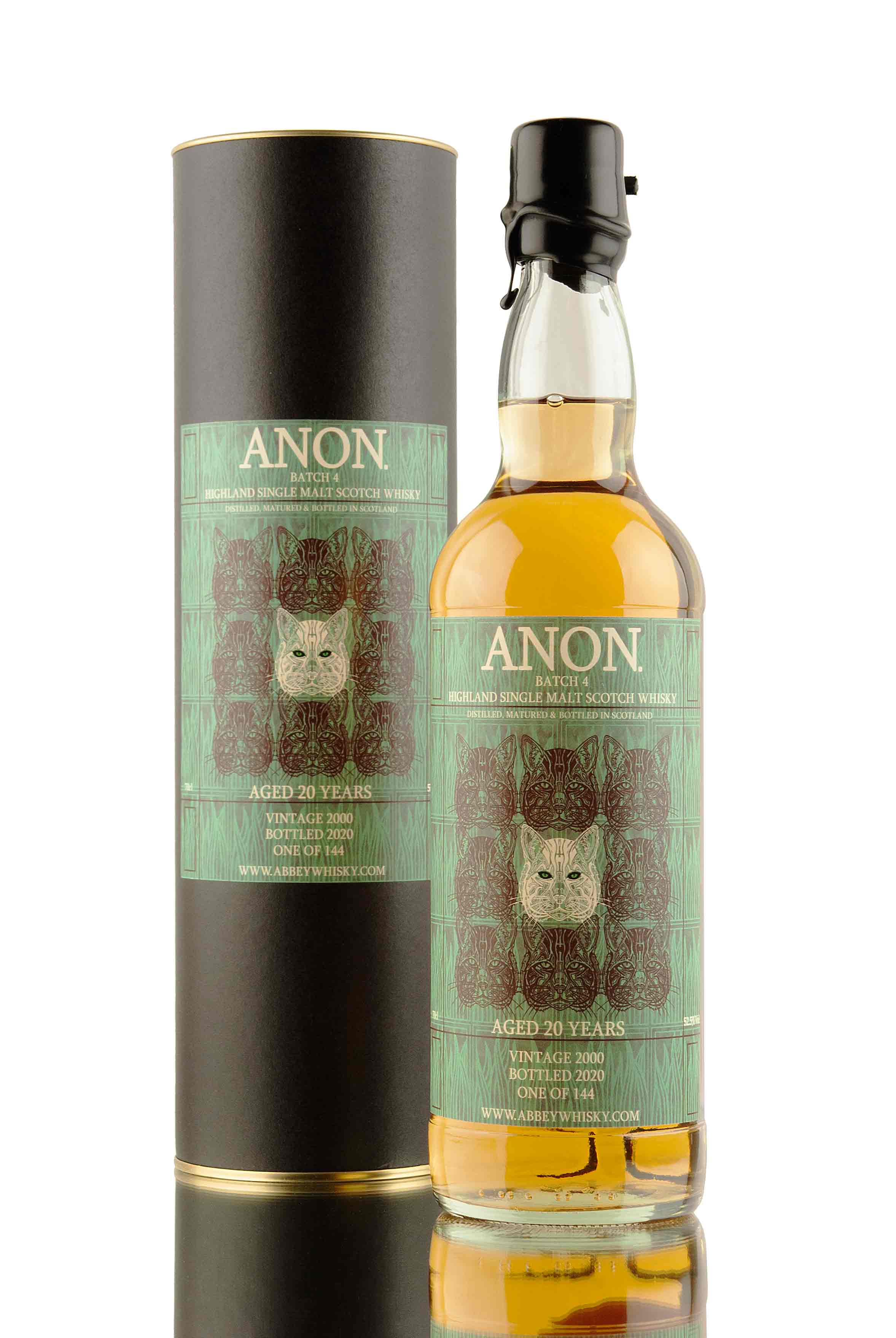 Anon. Batch 4 - 20 Year Old - 2000 | AW Exclusive | Abbey Whisky | Clynelish Distillery