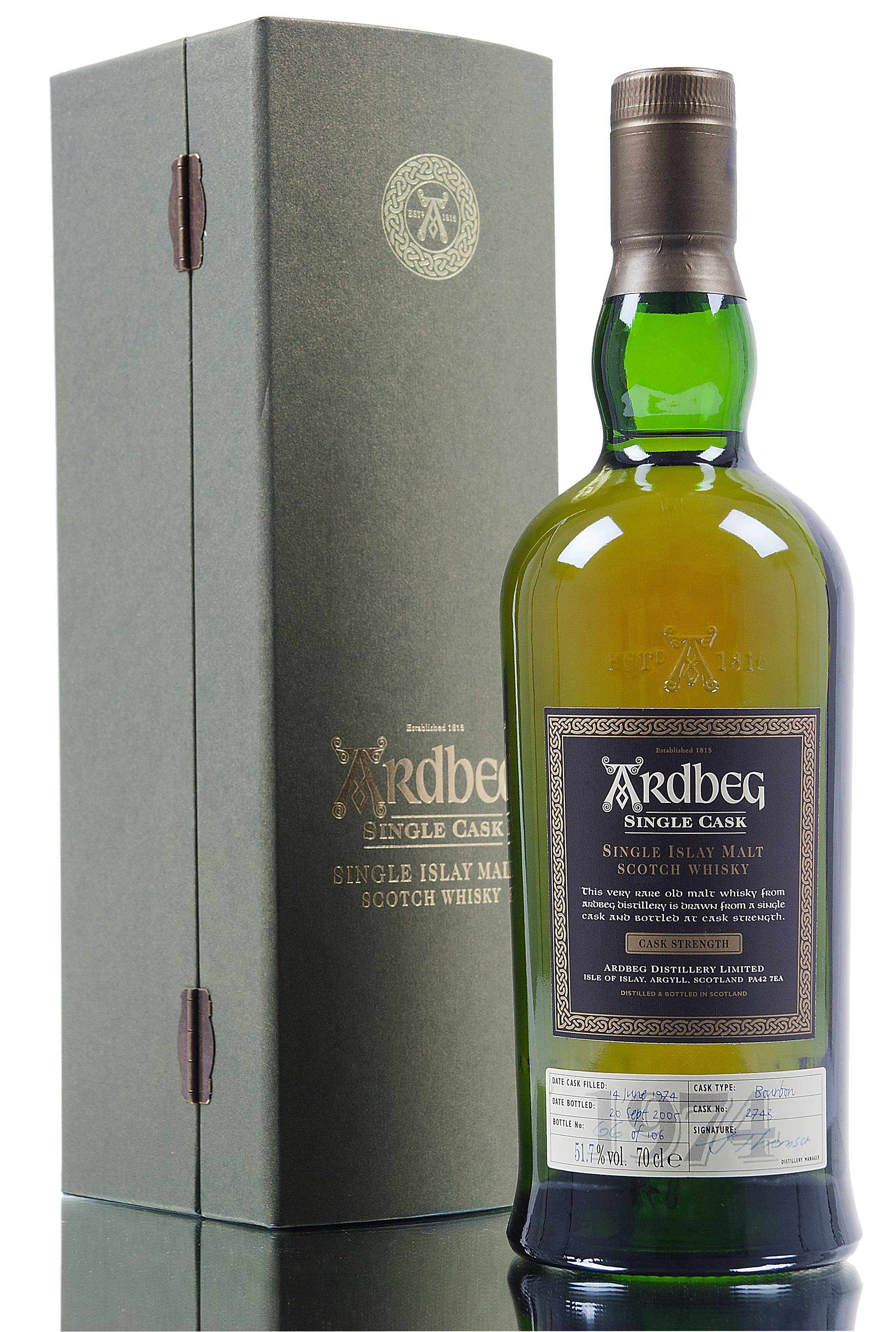 Ardbeg 1974 / Single Cask 2743 / 31 Year Old