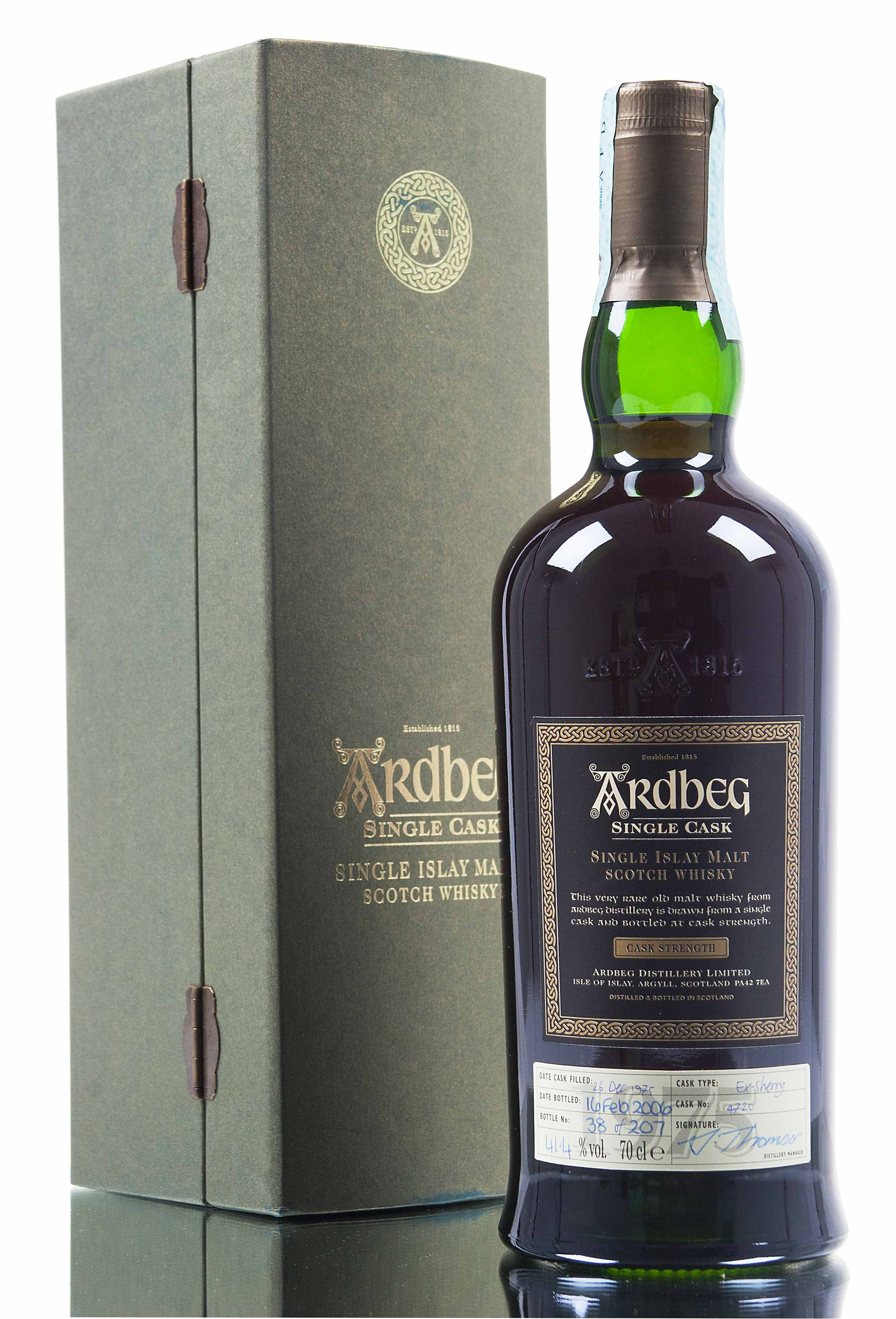 Ardbeg 1975 / Single Cask 4720 / 30 Year Old