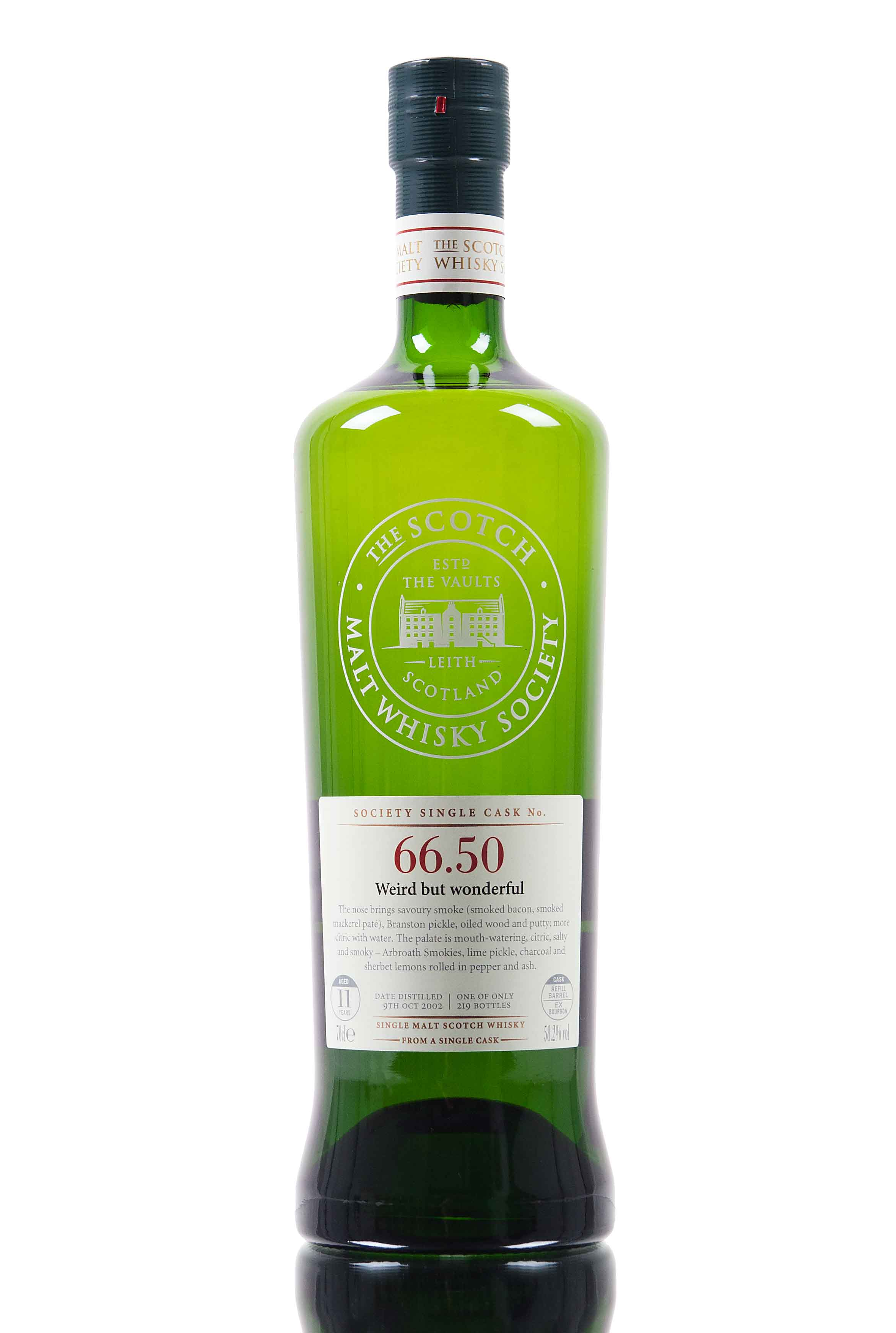 Ardmore 2002 / 11 Year Old / SMWS 66.50