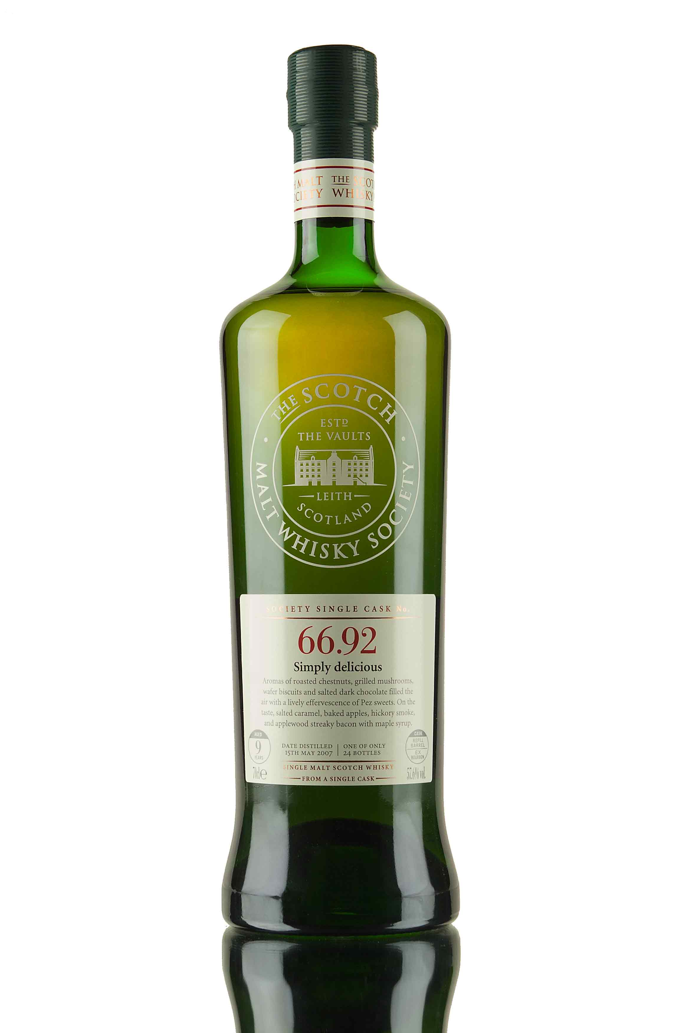 Ardmore 9 Year Old - 2007 / SMWS 66.92 (Simply Delicious)