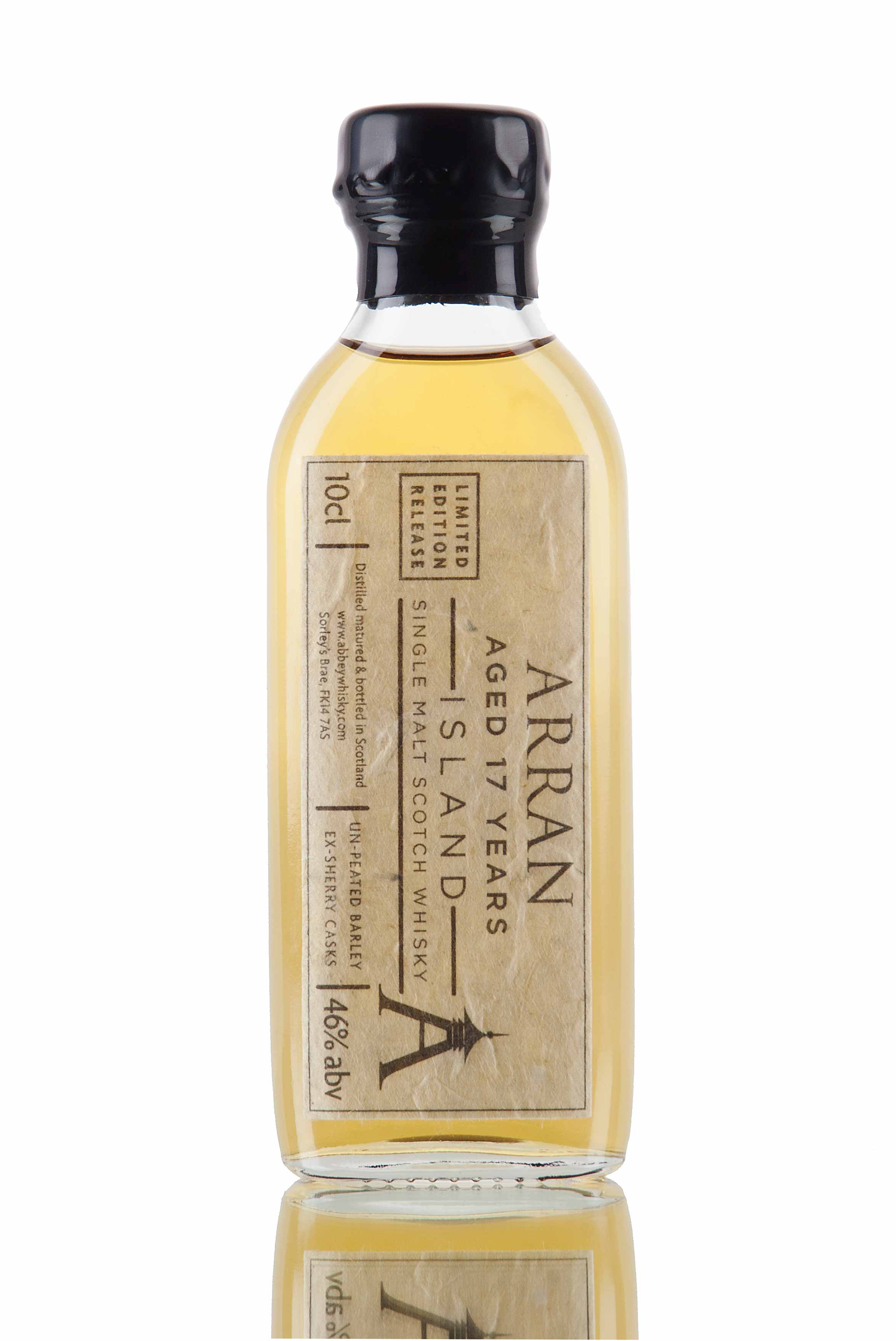 Arran 17 Year Old / Limited Release 10cl Sample