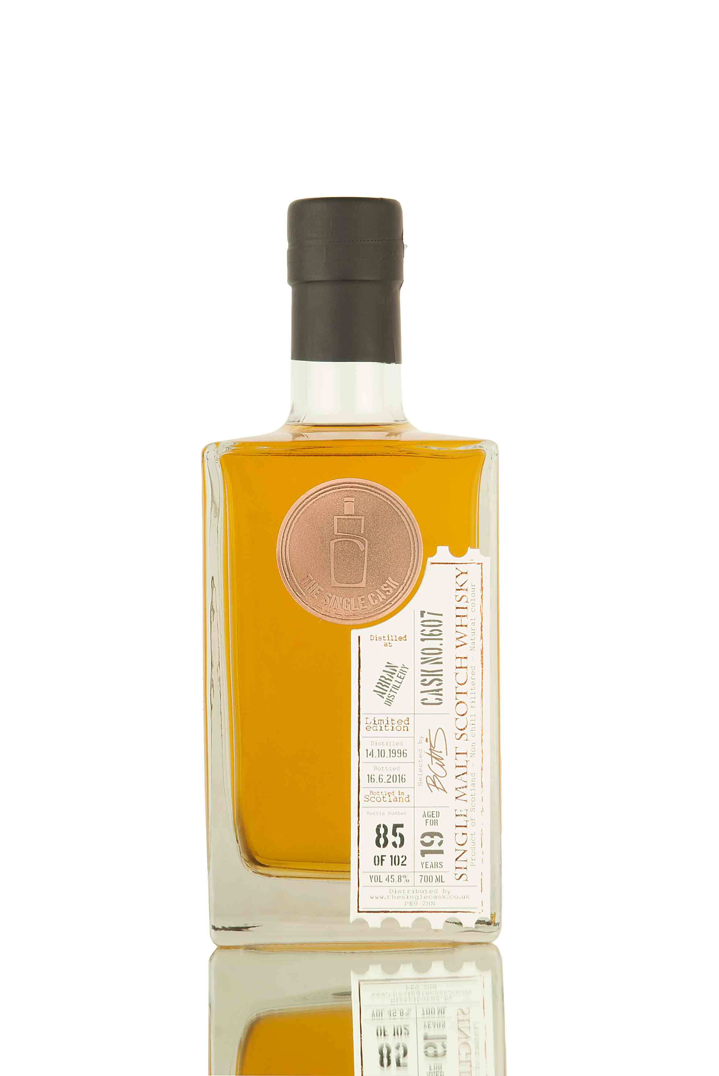Arran 19 Year Old - 1996 | Cask 1607 | The Single Cask