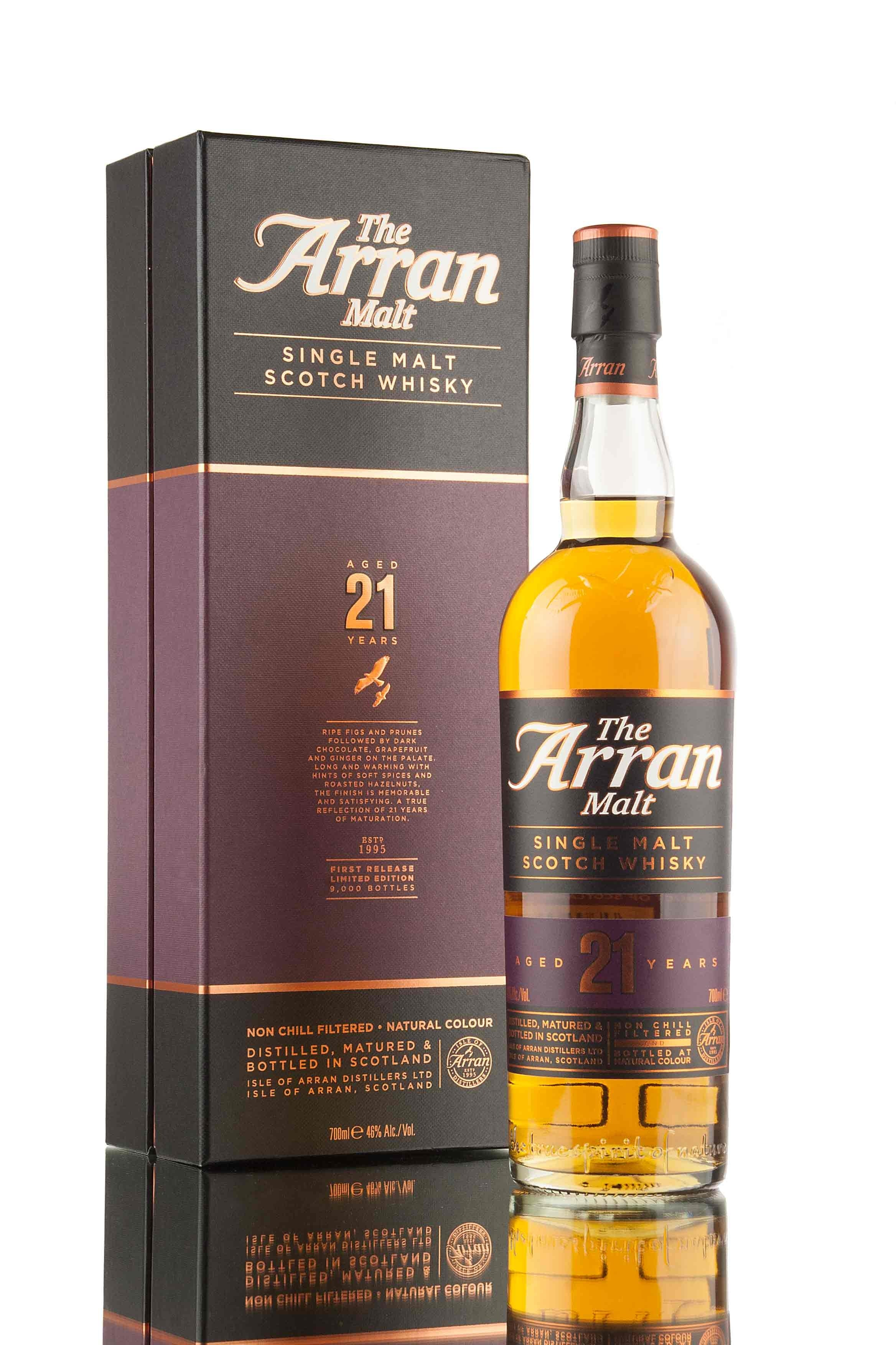 Arran 21 Year Old | First Release - 2018