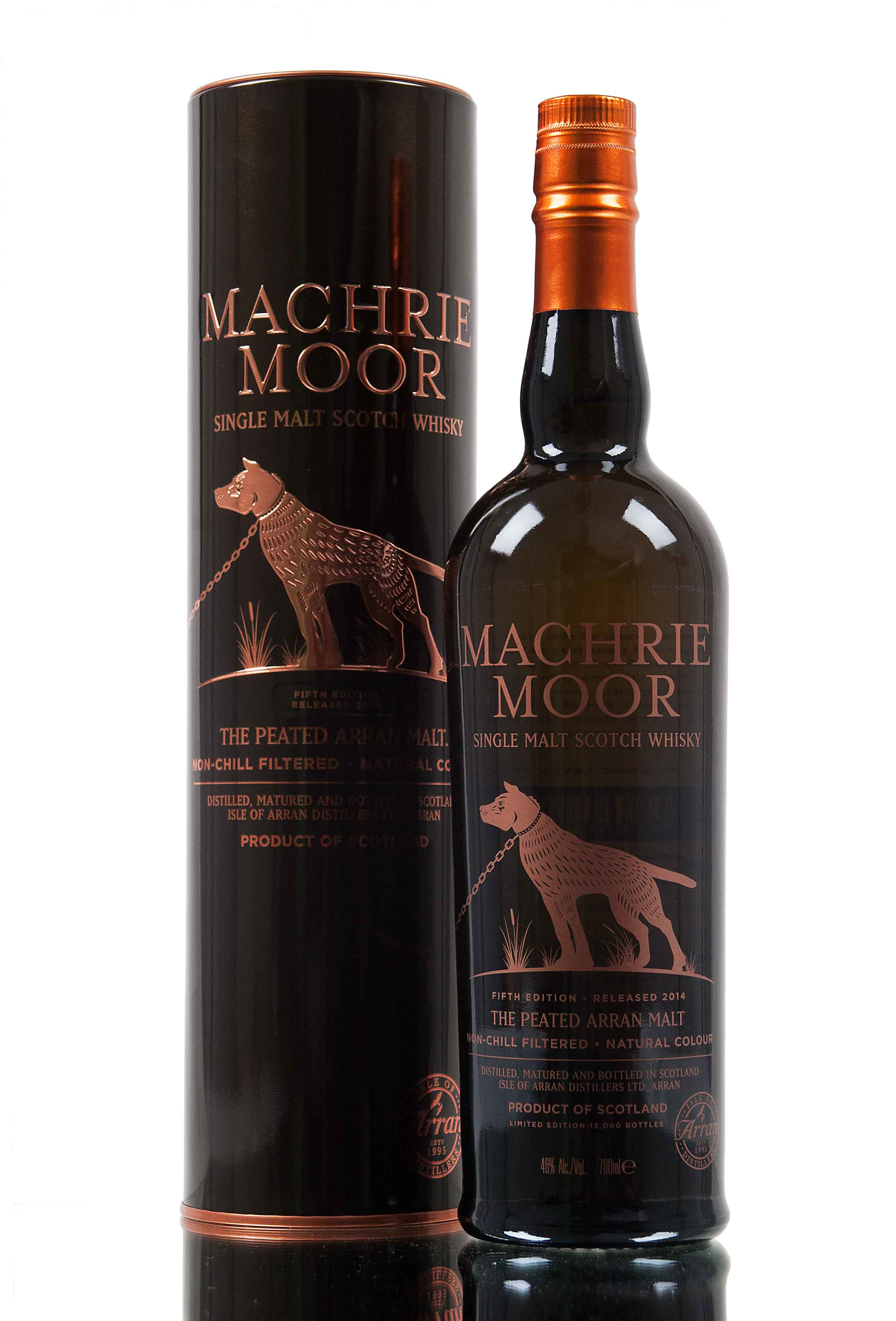 Arran Machrie Moor / Fifth Edition / Peated Whisky