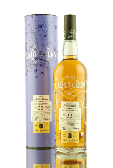 Auchentoshan 22 Year Old - 1998 | Cask 100157 | Lady of The Glen | Abbey Whisky