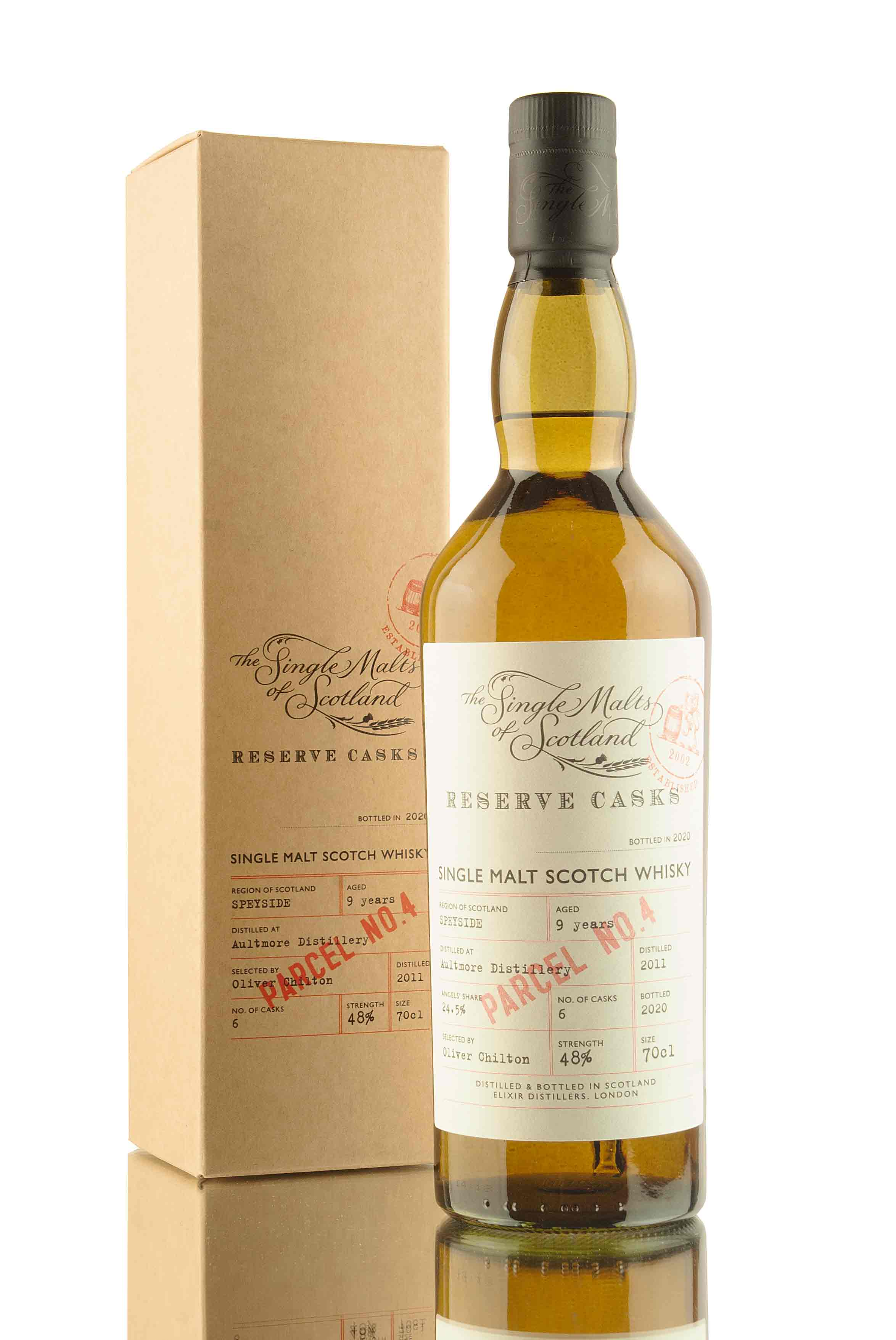 Aultmore 9 Year Old - 2011 | Reserve Casks Parcel No.4 | Abbey Whisky