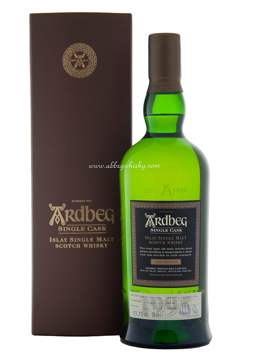 Ardbeg 1995, 14 Year Old, Single Cask 2761, Feis Ile 2010