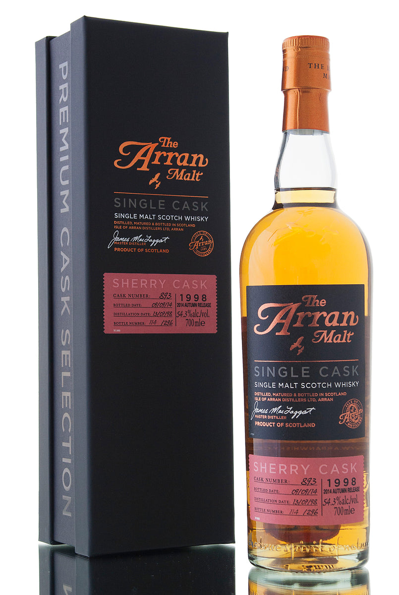 Arran Single Cask #893 / 1998 / 2014 Autumn Release