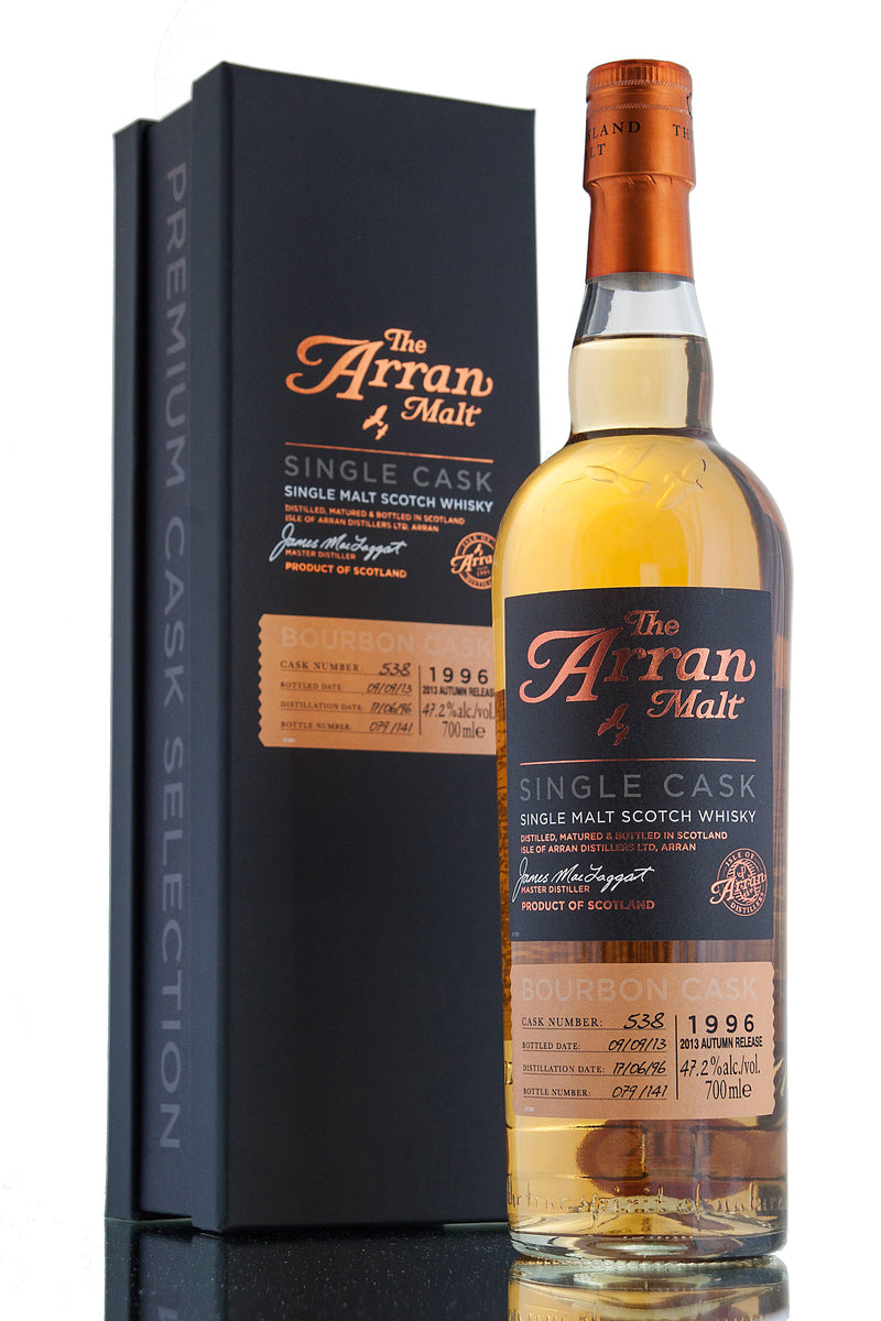 Arran Single Cask 538 / 17 Year Old / 1996