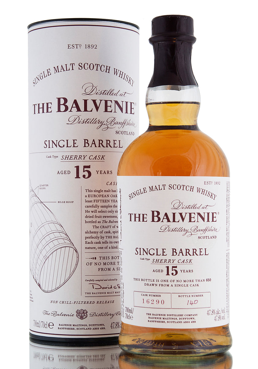 Balvenie 15 Year Old / Single Sherry Cask #16290
