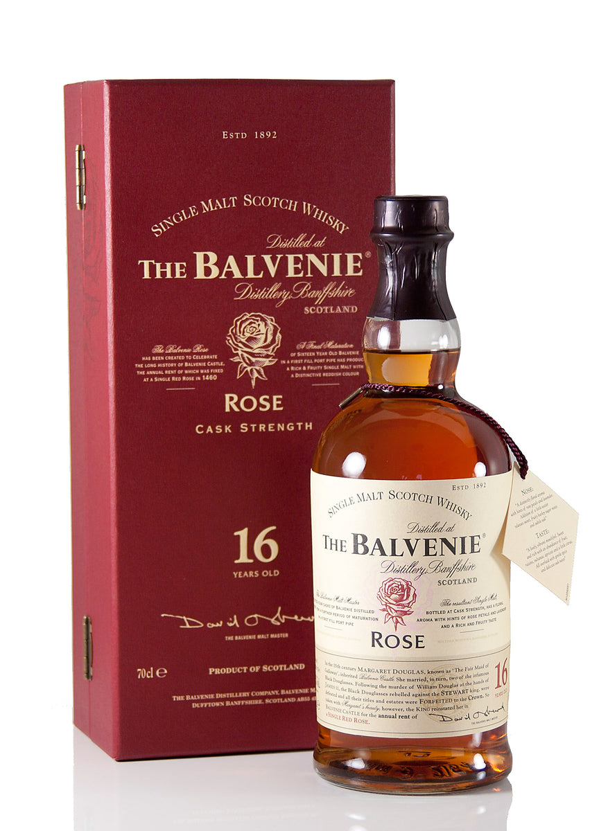 Balvenie Rose 16 Year Old 1991