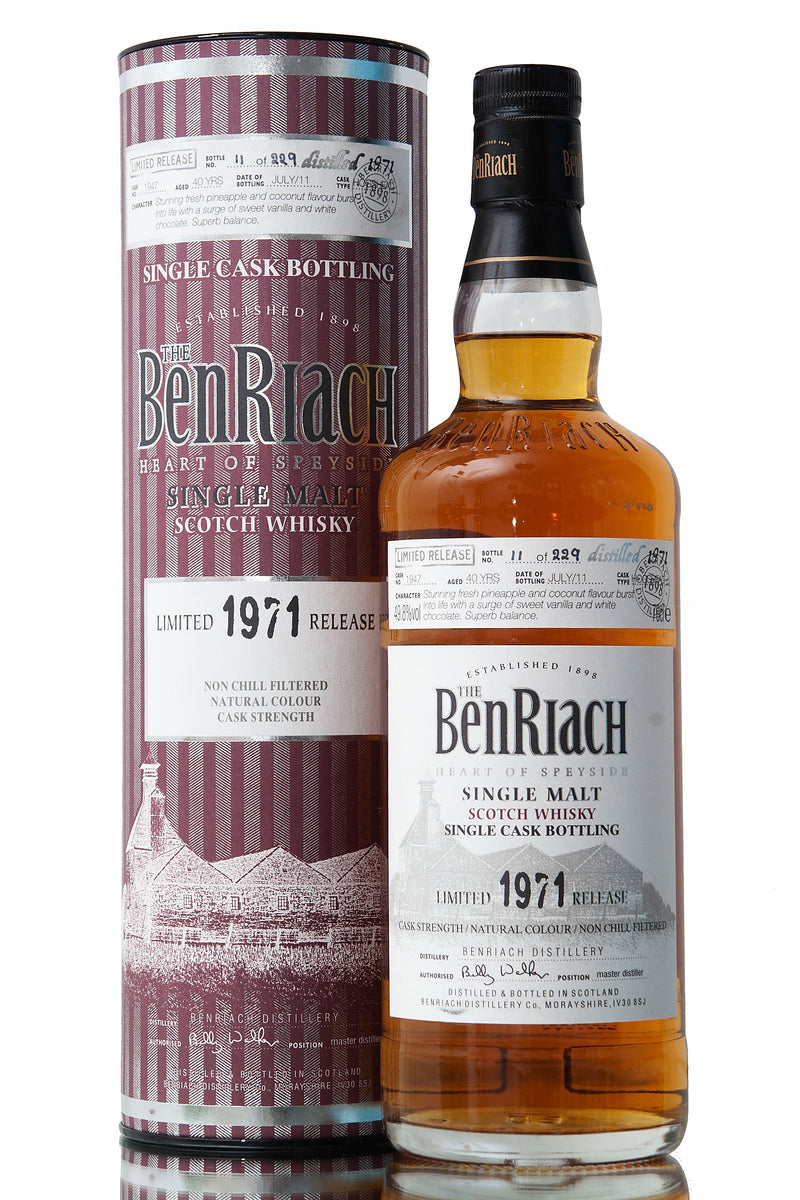 BenRiach 1971 / 40 Year Old / Single Cask 1947
