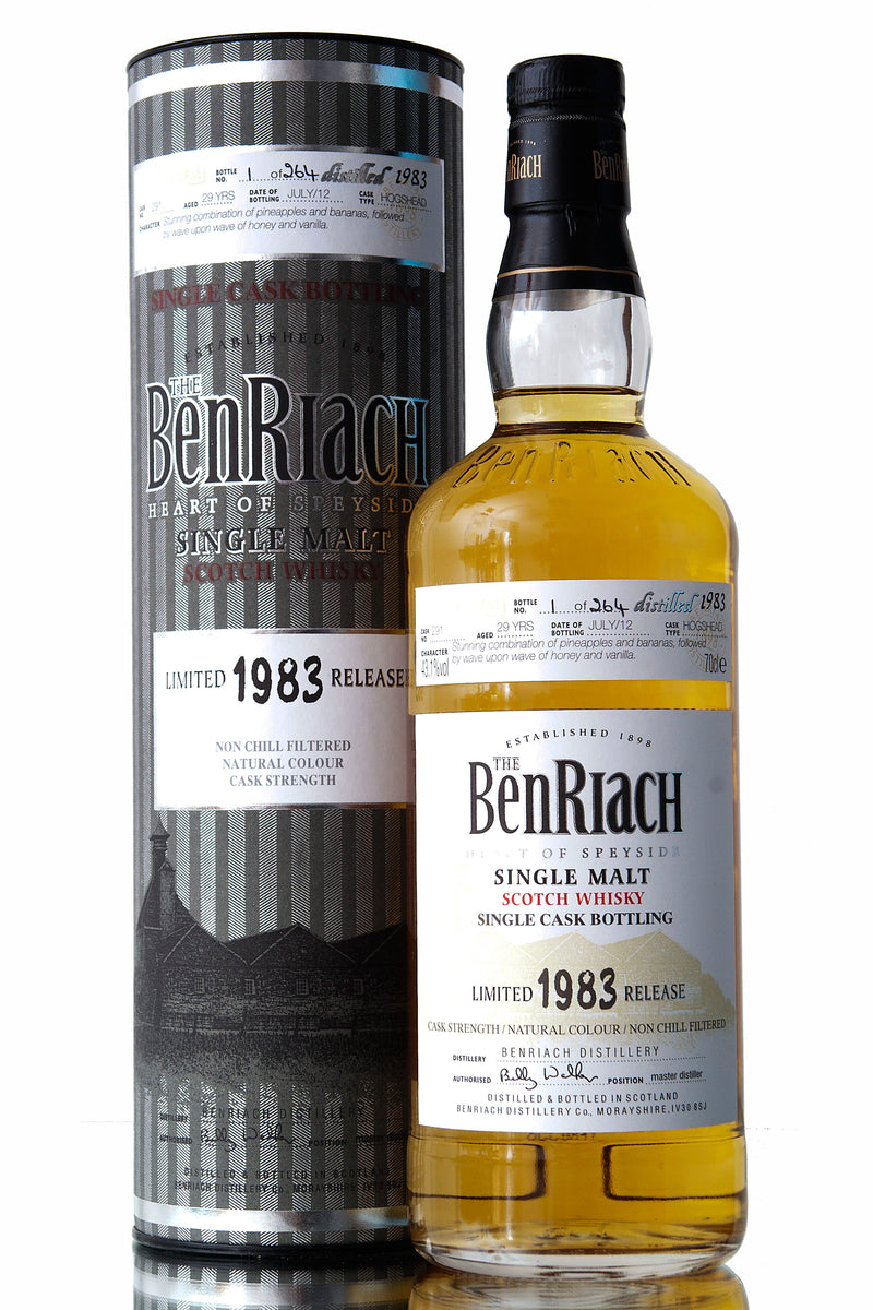 BenRiach 1983 / 29 Year Old / Cask 291