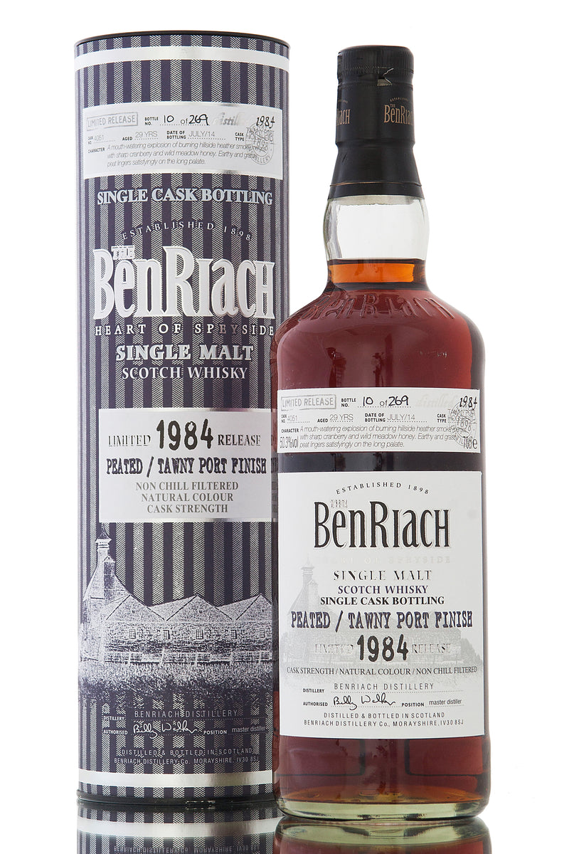 BenRiach 1984 / 29 Year Old / Cask #4051 / Batch 11