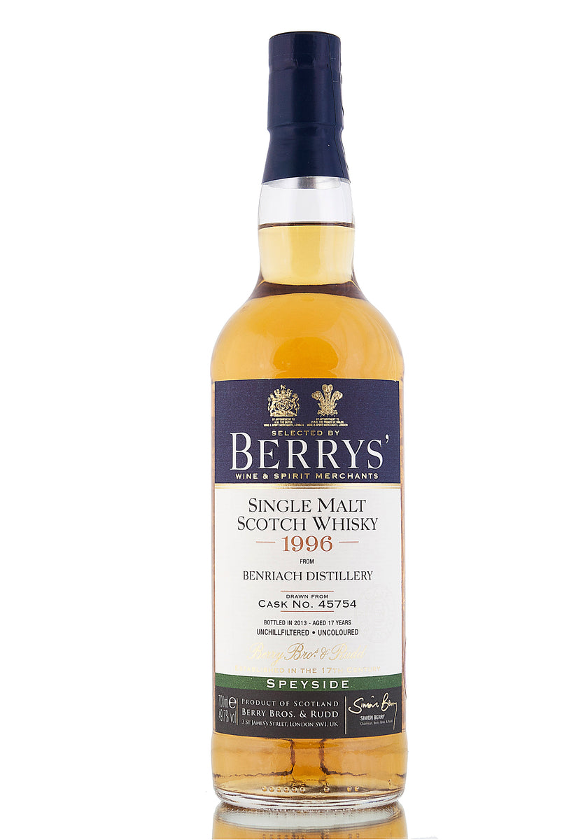 BenRiach 1996 / 17 Year Old / Single Cask #45754