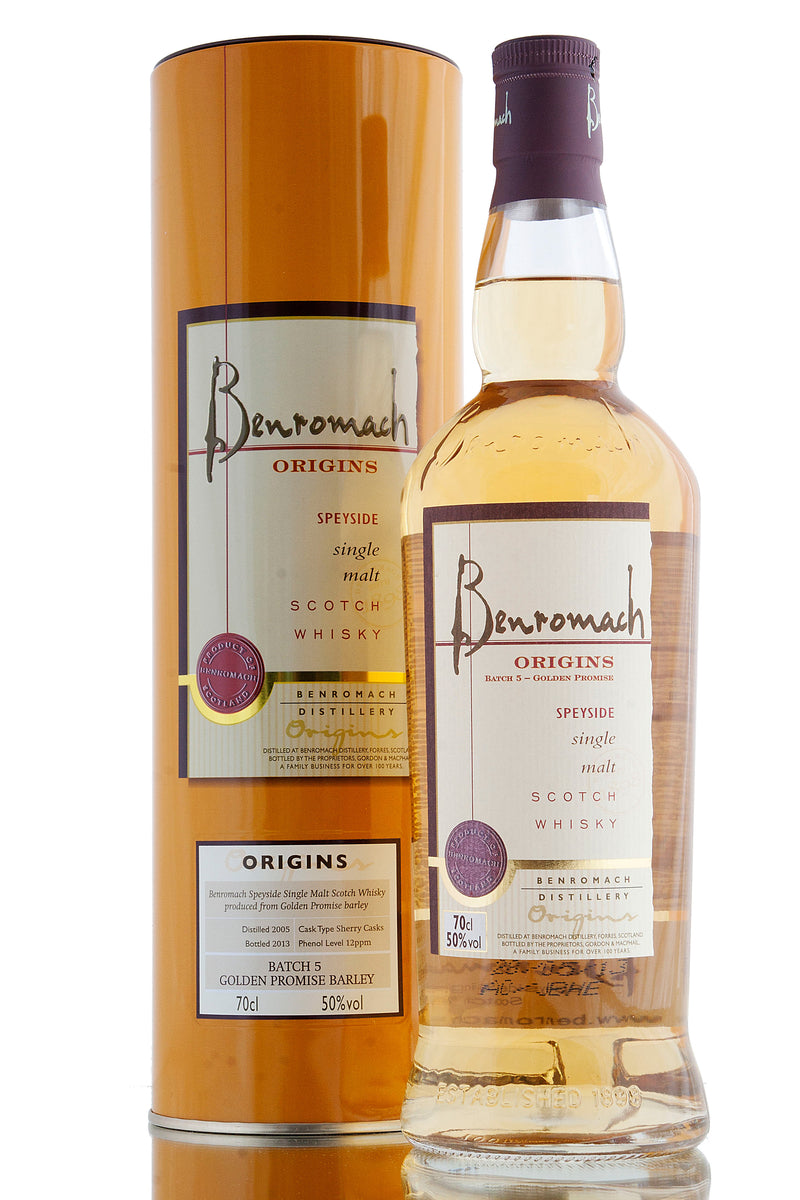 Benromach Golden Promise / Origins Batch 5