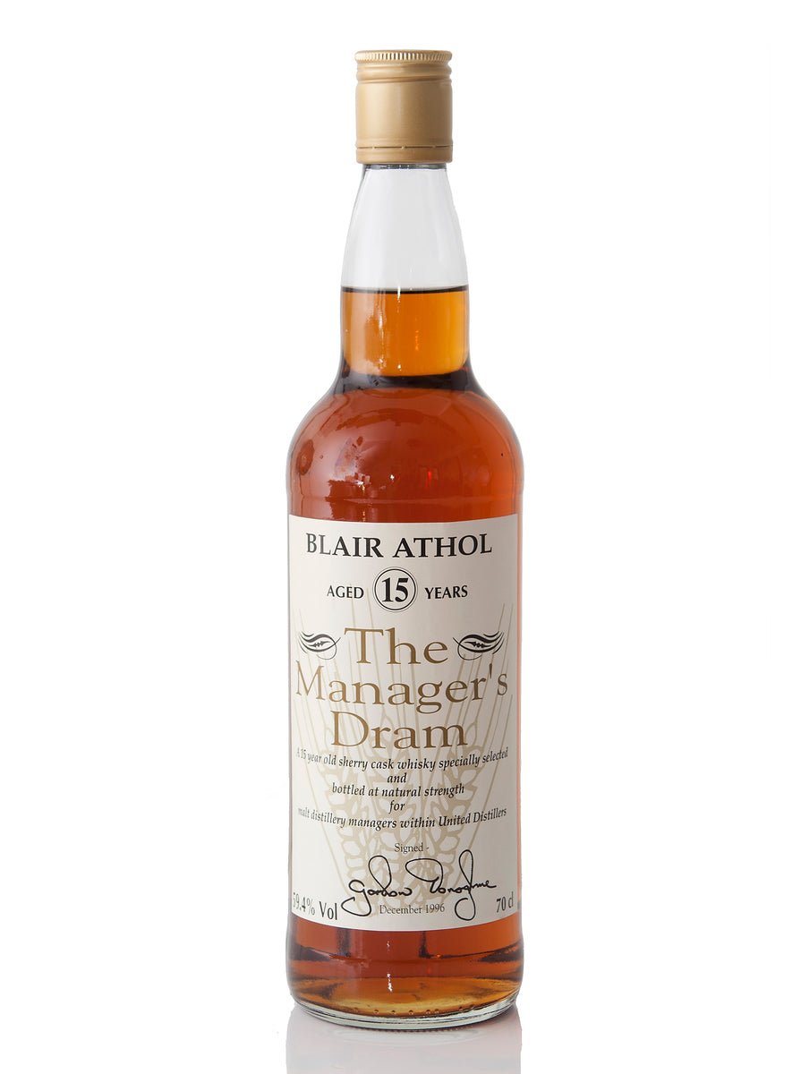 Blair Athol 15 Year Old / The Manager's Dram