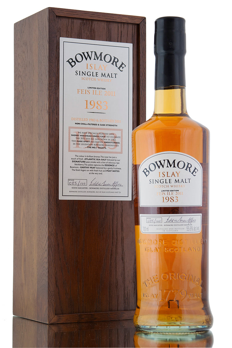 Bowmore 1983 / Feis Ile 2011 / 100 Limited Release