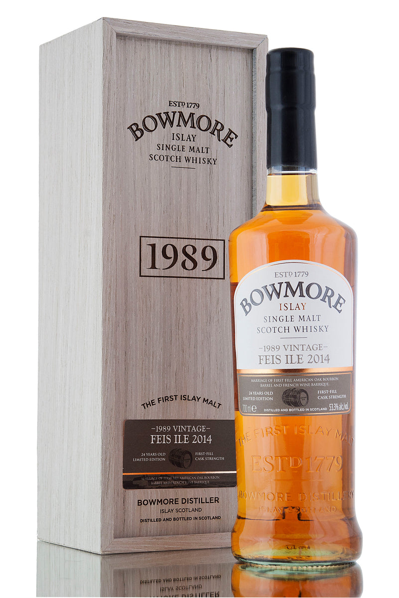 Bowmore 1989 / 24 Year Old / Feis Ile 2014