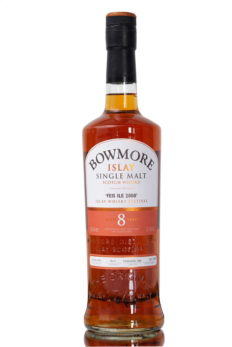 Bowmore Feis Ile 2008 Festival Whisky 8 Years Old