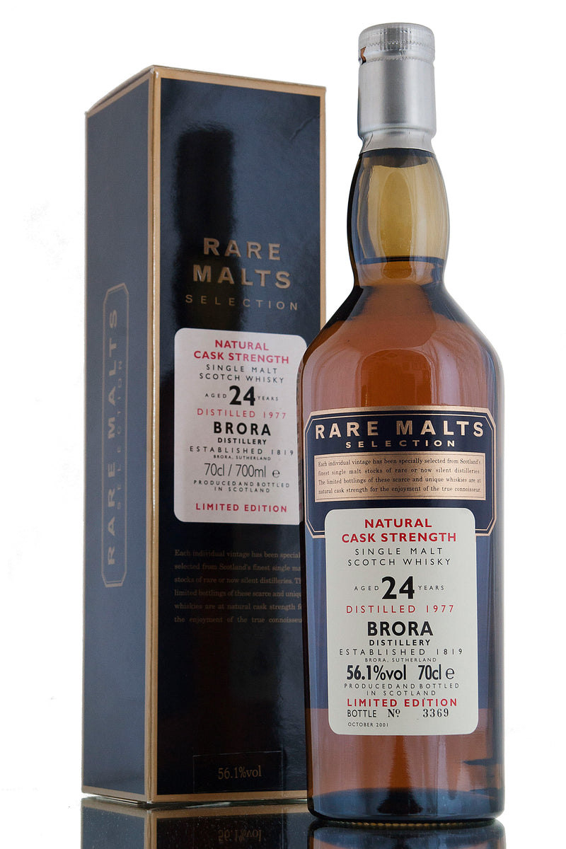 Brora 1977, 24 Year Old Rare Malts