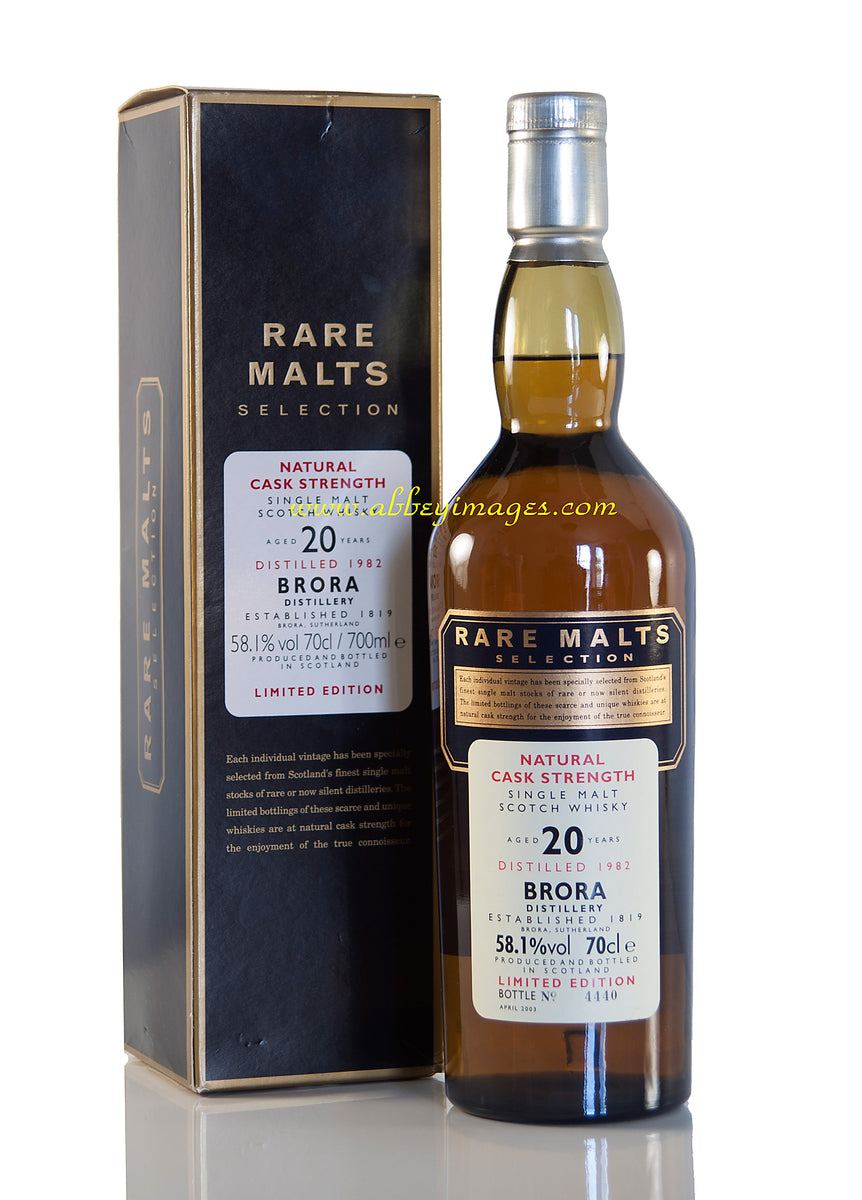 Brora 1982, 20 Year Old, Rare Malts