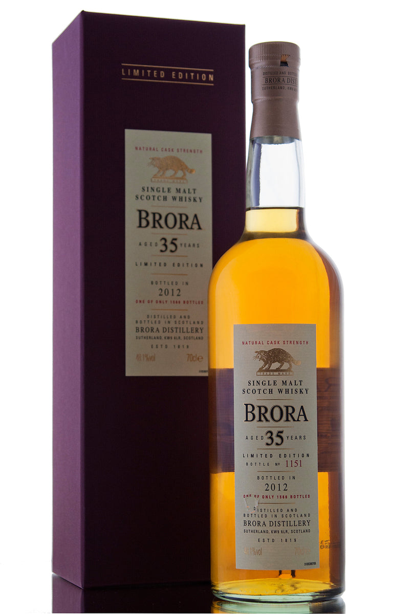 Brora 35 Year Old / 2012 Release